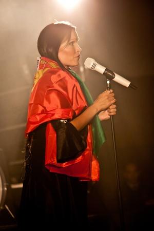 lyrical: Aula Magna, Lisbon, Portugal - February 15, 2012 - Tarja Turunen Performing Live as part of the What Lies Beneath Euro Tour 2012