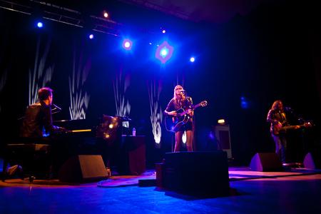 mann: LISBON, PORTUGAL - NOVEMBER 8 -  Aimee Mann performs live at Aula Magna on November 8 2013 in Lisbon Portugal. Editorial