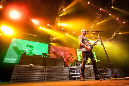 matthias: MEO Arena, Lisbon, Portugal - March 10, 2014 - Scorpions perform live