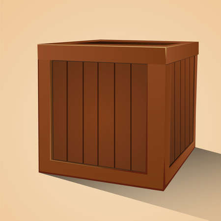 crates: Wooden crate