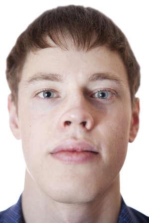 Portrait young men. Stock Photo