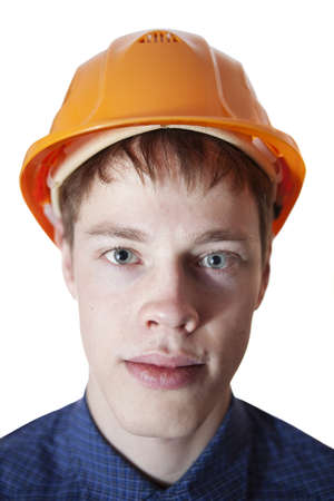 Portrait of young engineer. Stock Photo - 17276563