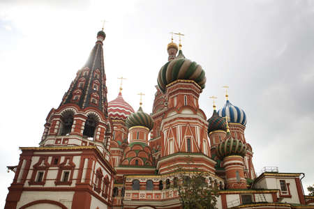 Architectural details of St Basil photo