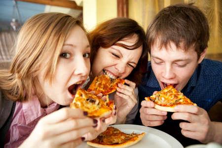 happy teenagers: Portrait  Stock Photo