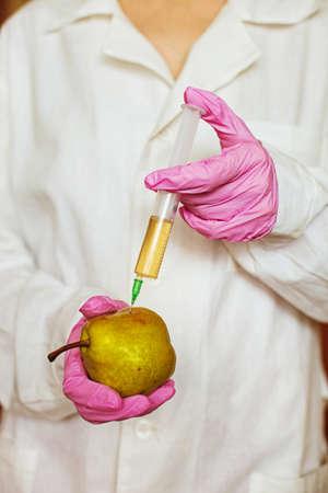 transgenic: GMO  Stock Photo