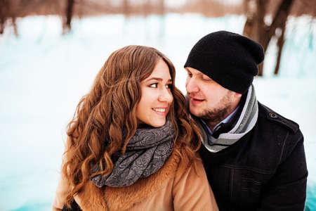 Couple. Stock Photo