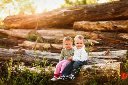 Children. Stock Photo