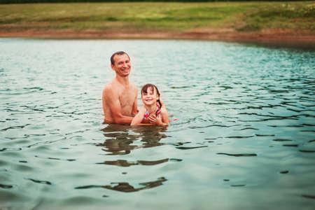children pond: Child.