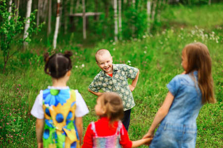 cohesiveness: The Children lead an active a lifestyle.