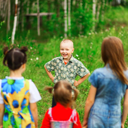 The Children lead an active a lifestyle.