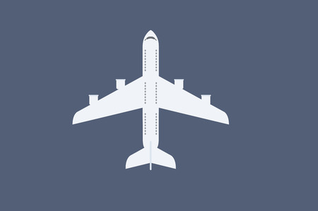 Vector Illustration of a Plane