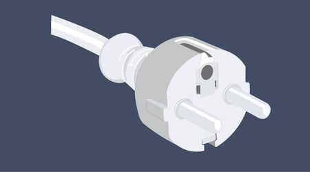 Vector Illustration of a Plug