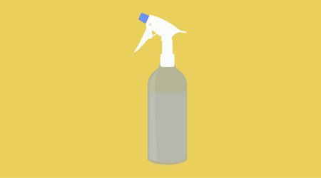 Isolated Vector Illustration of a Spray Bottle