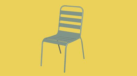 Isolated Vector Illustration of a Chair Stock Illustratie