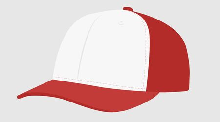 Vector Isolated Illustration of a Red Hat