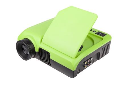 hdtv: HDTV DVD LCD PROJECTOR - STOCK IMAGE