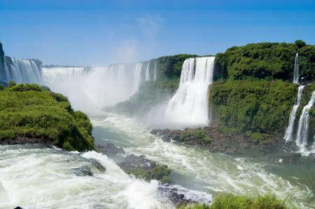 Iguazu Falls in Argentina Stock fotó