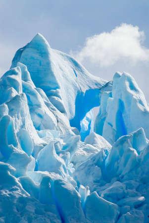 los glaciares: Glacier Ice in Patagonia