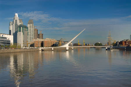 Puerto Madero, touristic destination in Buenos Aires, Argentina Stock Photo - 3293067