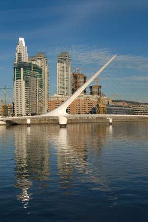 Puerto Madero, touristic destination in Buenos Aires, Argentina
