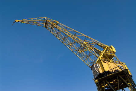 Old Crane in Puerto Madero, Buenos Aires Stock Photo - 3293047