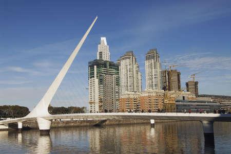 puerto: Puerto Madero, touristic destination in Buenos Aires, Argentina