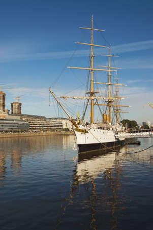 sarmiento: Old Navy Ship in Puerto Madero, Buenos Aires