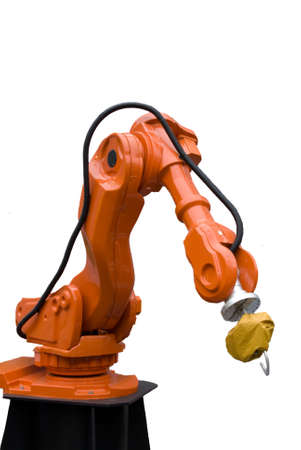 Soldering Robot Arm used in Car Construction