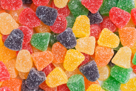 Colorful Jelly Candy Background Stock Photo - 3403544