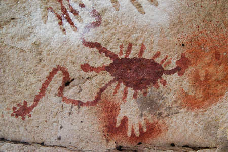 stoneage: Ancient Cave Paintings in Patagonia