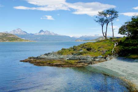 Parque Nacional Tierra del Fuego Stock Photo
