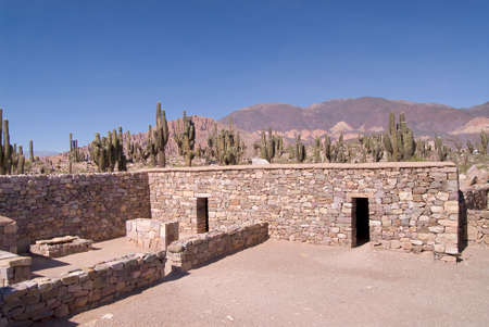 the humanities landscape: Ancient Fortified Citadel in Tilcara, Northern Argentina