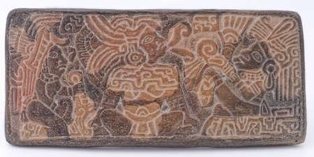 Ancient Mayan Glyphs photo