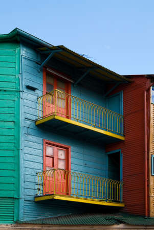 Colorful Houses in  photo