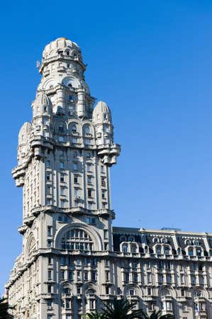 Palacio Salvo in Montevideo, Uruguay.