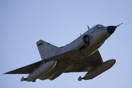 Mirage III Combat Jet in Flight photo