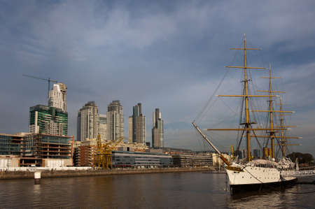 Puerto Madero, touristic destination in Buenos Aires, Argentina Stock Photo - 7878824