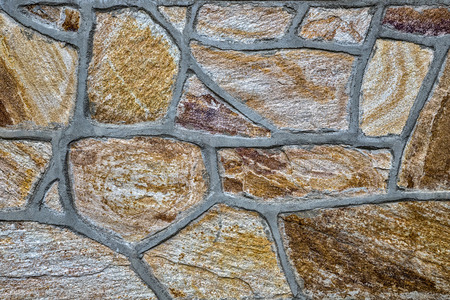 Surface with stones, wall, perfect to background