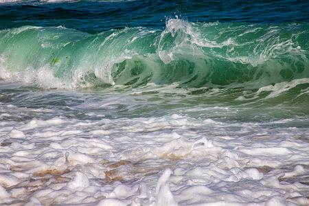 sea waves, close up, beauty water splash 版權商用圖片