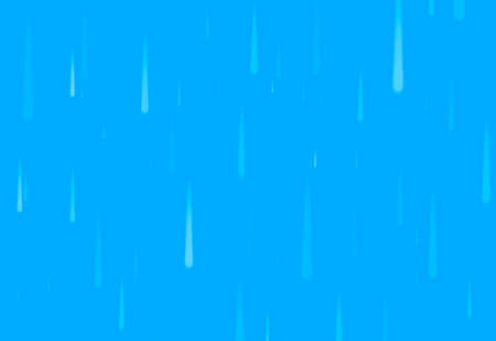 abstract blue background with white drops like a rain 版權商用圖片
