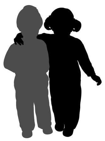 irm�o: Irmão e irmã