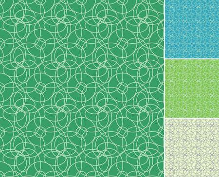 Seamless circles pattern Stock Vector - 3879260