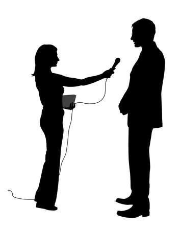 audition: Wywiad Ilustracja