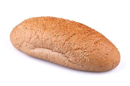 Loaf of bread with sesame seeds