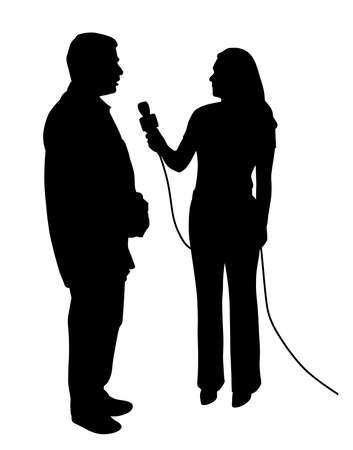 Illustration of an interview.