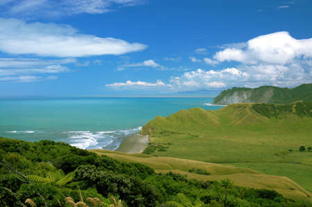 East coast of the North Island of New Zealand