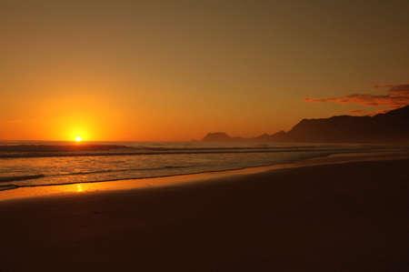Beautiful sunrise on New Years day 2005