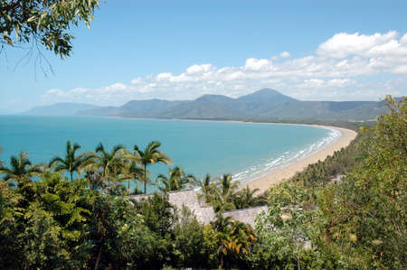 Port Douglas beach and coastline, Queensland, Australia Stock Photo