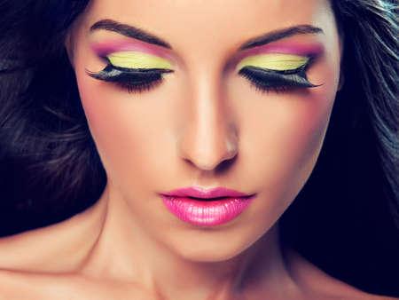 maquillage: La mode maquillage Banque d'images