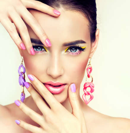 Spring and summer fashion way. Stock Photo - 37597677